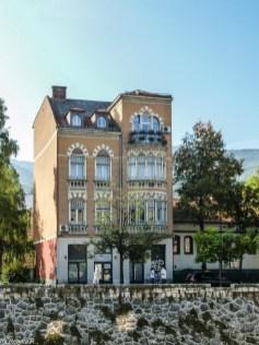 Sarajewo kamienica zdobienia