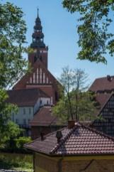warmia - lidzbark warmiński kościół św. Apostołów Piotra i Pawła