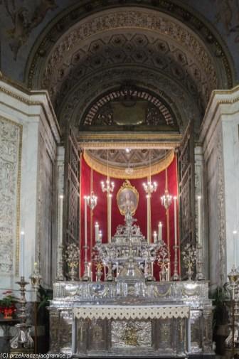 Palermo - Katedra, relikwiarz św. Rozalii