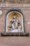 palermo - kościoł carmine maggiore rzeźba
