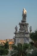 palermo - villa bonanno pomnik