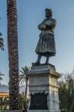 palermo - villa bonanno rzeźba