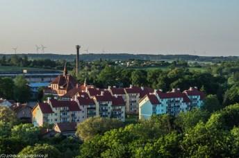 warmia - reszel widok panorama z zamku