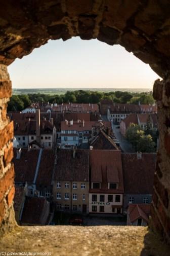 warmia - reszel widok z zamkowej wieży