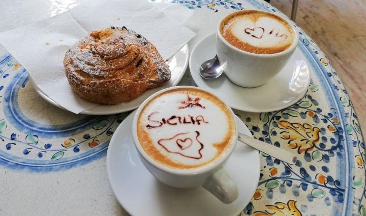 sycylia informacje praktyczne - cappuccino włoskie