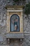 Erice - kapliczka na murze