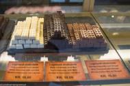 Czekolada w kształcie klocków LEGO billund