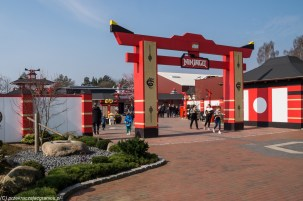 wejście do ninjago world w billund