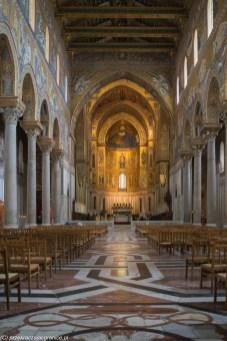 monreale - katedra nawa główna