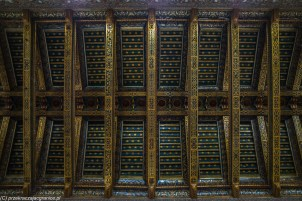monreale - katedra drewniany sufit