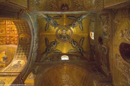 monreale - katedra złote sklepienie