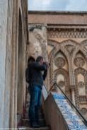 monreale - katedra wejście na dach