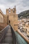 monreale - katedra trasa na dachu