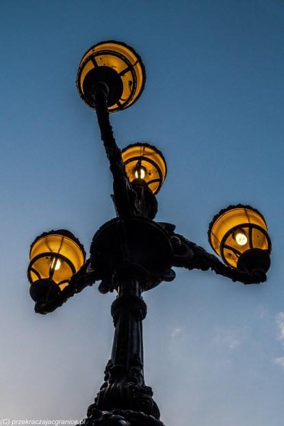 Palermo - latarnia uliczna