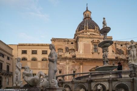 Palermo - Fontanna Wstydu