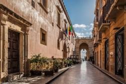 saliny - marsala brama Garibaldiego sycylia