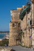 Sciacca - bastion obronny od strony morza