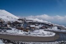 wulkan etna - kompleks schroniskowy parking