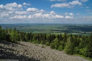 podsumowanie maja - gołoborze i widok na okolicę