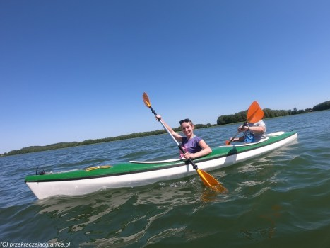 ludzie sport kajak natura jezioro