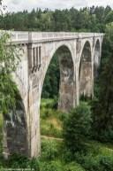 wiadukt kolejowy widziany z góry