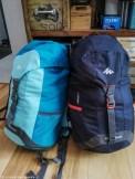 zapakowane plecaki