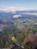 widok z lotu ziemia