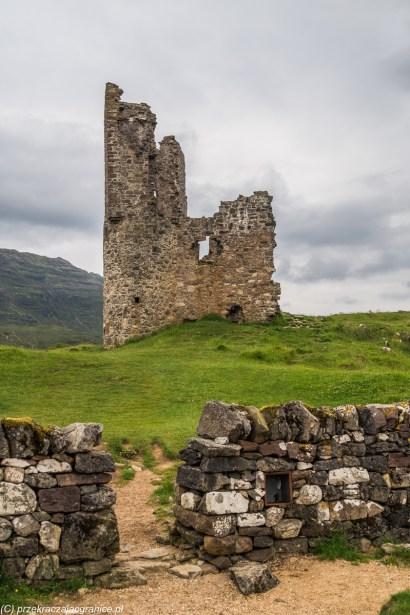 Ardvreck Castle - na północ North Coast 500