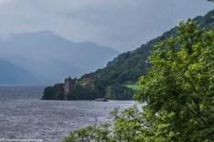 Loch Ness - Zamek nad jeziorem