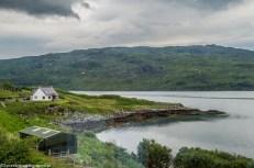 Na północ North Coast 500 - Loch Gleann Dubh