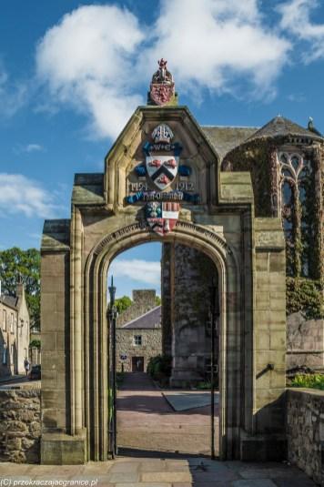 Aberdeen - brama uniwersytecka