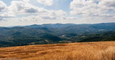 Szlaki w Bieszczadach - Połonina Wetlińska