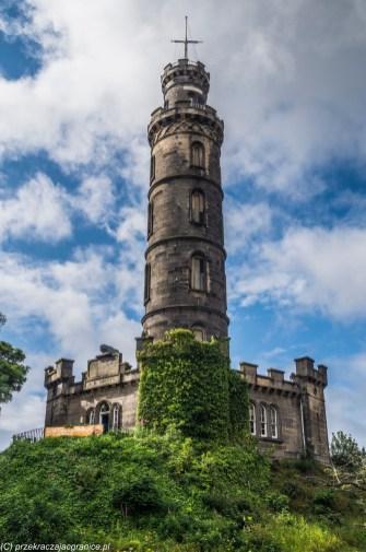 Calton Hill - Nelson Monument