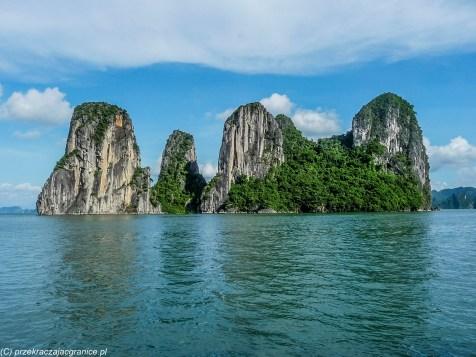 północny wietnam - ha long bay unesco zatoka