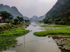 północny wietnam - hoa lu krajobraz
