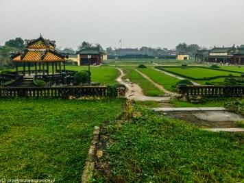 środkowy wietnam - hue cytadela ogrody