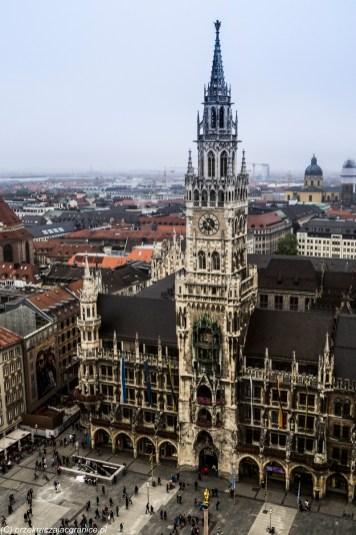 Neues Rathaus - atrakcje Monachium