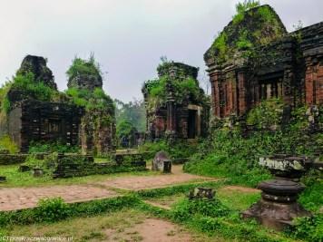 środkowy wietnam - my son ruiny wieże