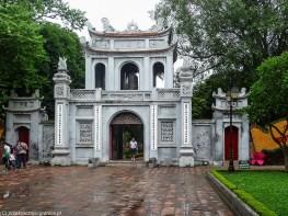 spacer po hanoi - świątynia literatury