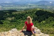 okolice skopje - góra vodno panorama macedonia