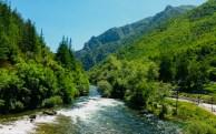 okolice skopje - kanion matka krajobraz macedonia