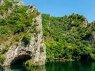 okolice skopje - kanion matka jaskinia krajobraz góry przyroda