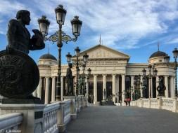 skopje w jeden dzień - muzeum archeologiczne skopje macedonia północna
