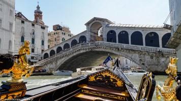 karnawał w Wenecji - Most Rialto