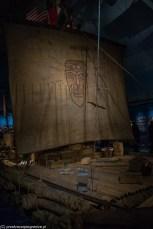 muzea w Oslo - tratwa Kon Tiki
