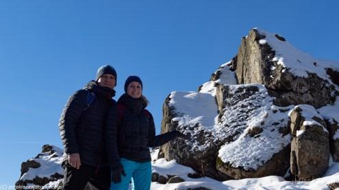 podsumowanie stycznia - wysoki kamień góry izerskie