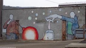 atrakcje karpacza - huta julia mural