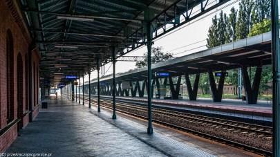 weekend w Toruniu - Dworzec kolejowy