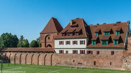weekend w Toruniu - Zamek Krzyżacki