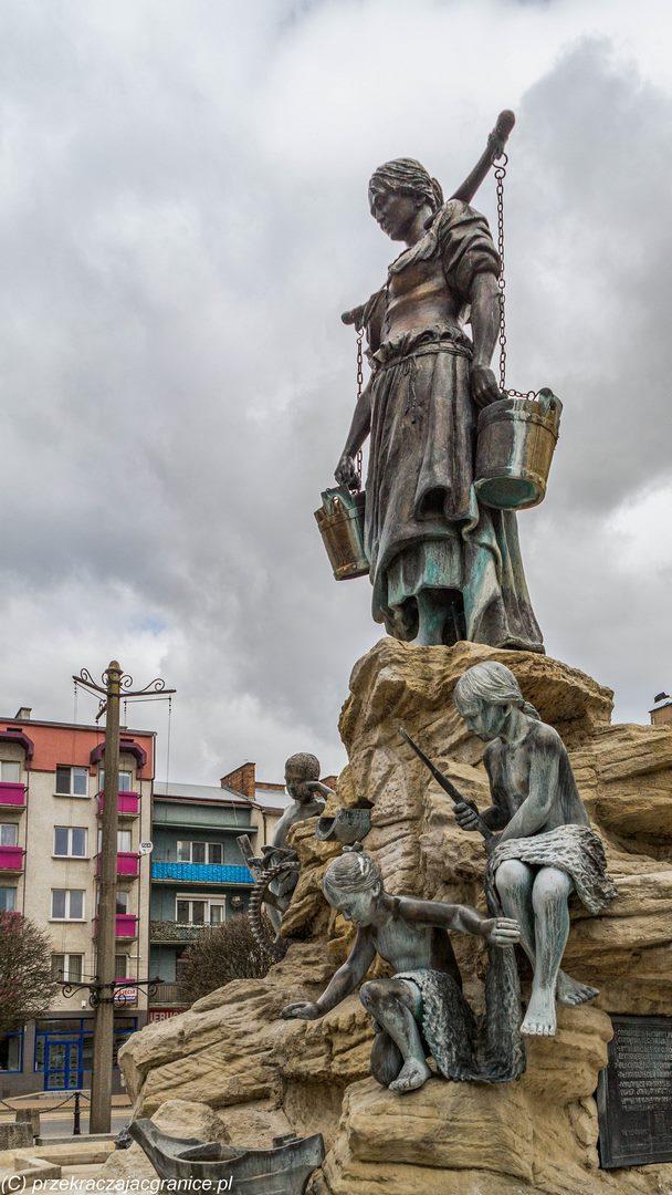 Fontanna w Gorzowie Wielkopolskim